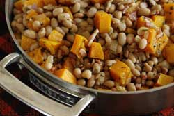White Bean and Butternut Squash Ragout