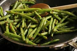 Pancetta-Seared Green Beans