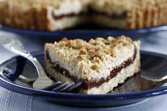 Chocolate-Oat Tarts