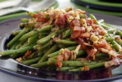 Green Bean Salad with Bacon and Walnuts