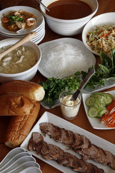 Vietnamese Soup and Sandwich Supper