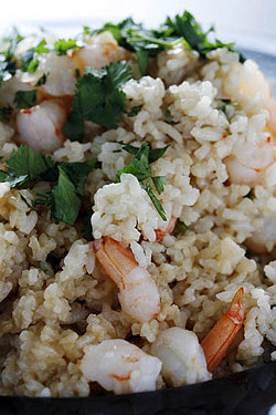 Jasmine Shrimp Fried Rice