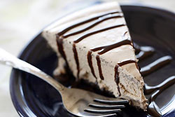 Frozen Mocha Mousse Pie