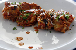 Image of Saucy Chicken Wings Marinara, Viking