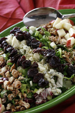 Crispy, Crunchy Chopped Salad