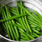 Blanching and Shocking Green Vegetables