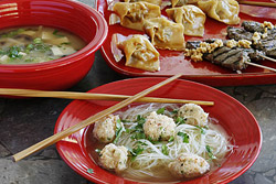 Asian Soups and Starters