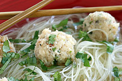 Asian Meatball Soup