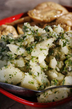 Warm Potato Salad