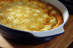 Cheesy Baked Eggs
