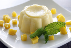 Coconut-Mango Mousse