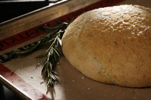 Food Processor Rosemary Focaccia