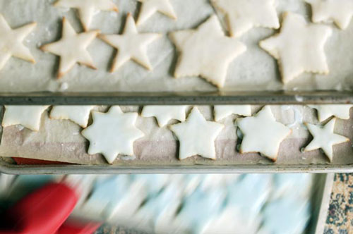 Almond-Glazed Sugar Cookies