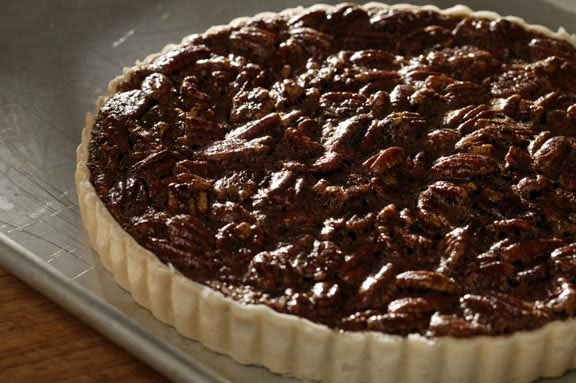 Chocolate-Pecan Tarts