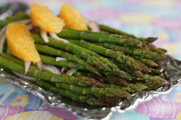 Honey-Citrus Marinated Asparagus