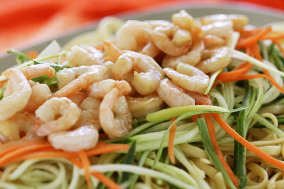 Long Noodle Salad