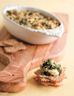 Spinach and Artichoke Dip with Catfish