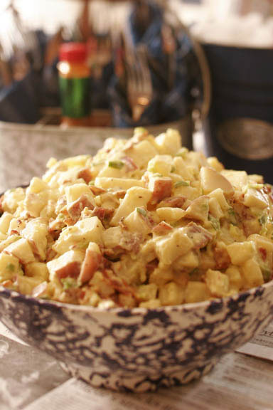 Old Fashioned Potato Salad with Bacon