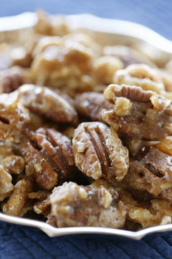 Sugar and Spice Pecans and Walnuts