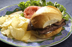 Beef and Boursin Sandwiches