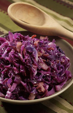 Wilted Red Cabbage