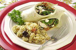 Chicken Portobello Wraps