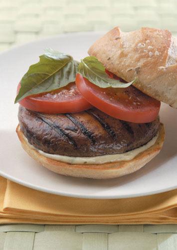 Portobello Mushroom Burgers - Viking Range, LLC
