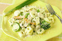 Chicken and Vegetable Tortellini Dijon