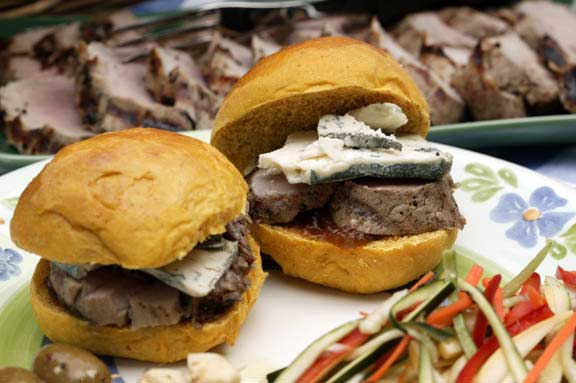 Cider-Brined Pork Tenderloin Sandwiches