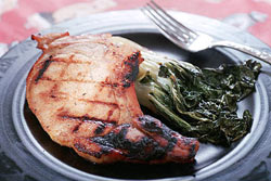 Pork Chops with Ginger Ale Marinade