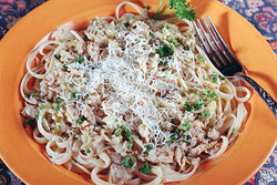 Karin's Linguine with White Clam Sauce