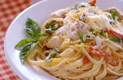 Lemon-Cream Pasta Toss