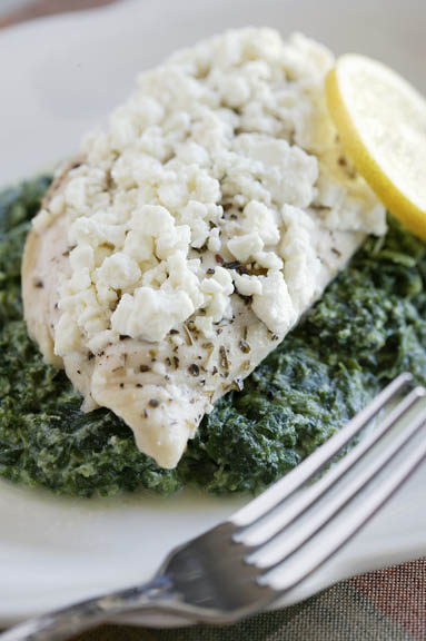 Lemon-Feta Chicken