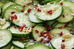 Cucumber-Peanut Salad - Viking Range, LLC