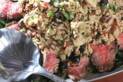Steak and Wild Rice Salad