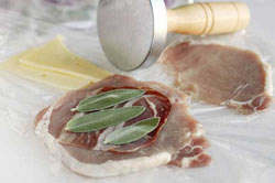 Prosciutto, Sage and Fontina Pork Packets