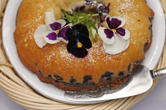 Blueberry-Orange Coffee Cake
