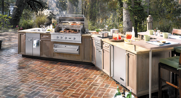 Great Viking Outdoor Kitchens