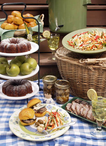 Early Autumn Picnic Menu