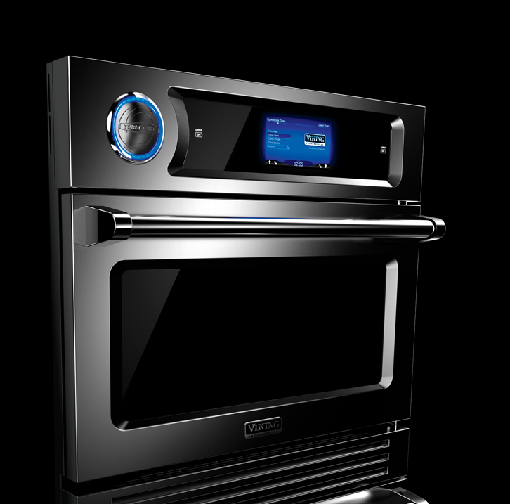 THE VIKING PROFESSIONAL TURBOCHEF SPEEDCOOK DOUBLE OVEN