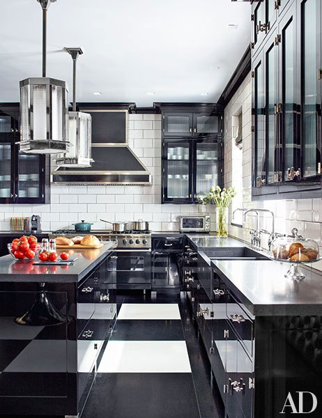 Viking Professional Range in Black Featured in Architectural Digest