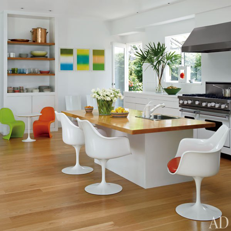 48 Inch White Viking Range Featured in Architectural Digest April