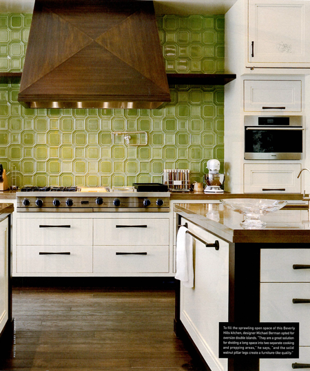 Viking Rangetop Featured in Luxe Magazine