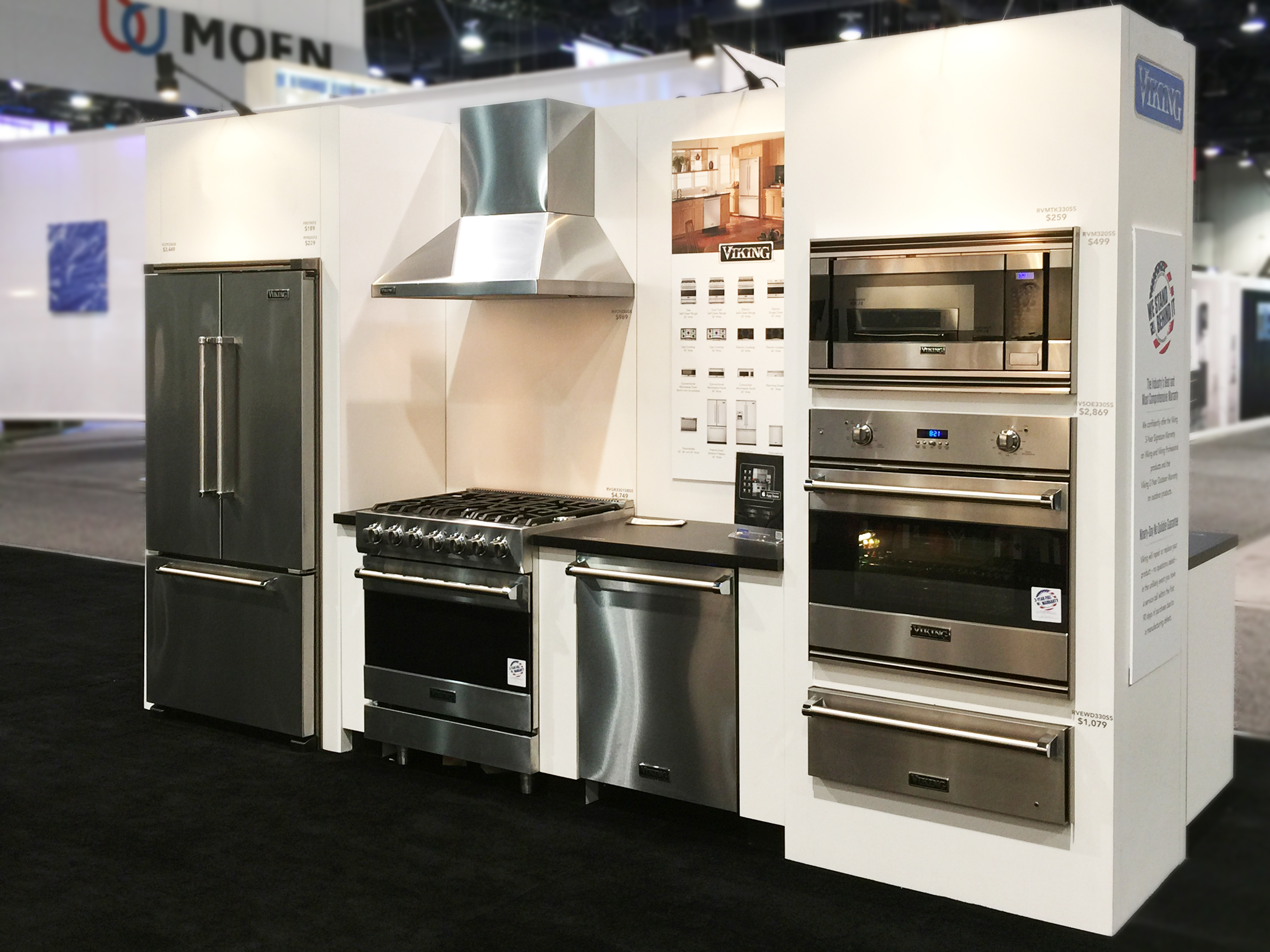 Viking Range Llc To Showcase New Products At Kbis Show Old